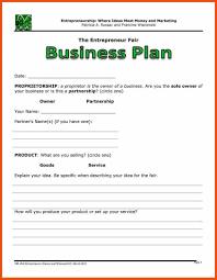 Basic Business Plan Template Simple Business Plan Template Word Program Format