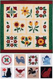 Fabric fusing: the easiest appliqué method? - Stitch This! The ... & Block patterns from Easy Applique Blocks Adamdwight.com