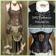 Steampunk Patterns Gorgeous Unique DIY Victorian Steampunk Clothing Patterns From Harlots And Angels