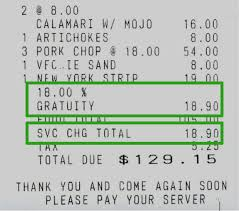 Hourly Payroll Calculator California Accounting Payroll Issues For Restaurant Tips And Service Charges