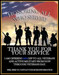 Thanks For Your Service Thank You For Your Service My Annual Veterans Day Sale