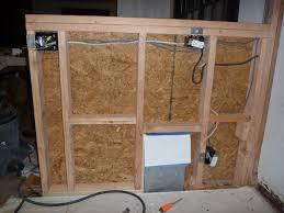 building a sy half wall bar top