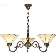 aged brass ceiling pendant tiffany shades
