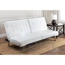 futon sofa bed for sale. Simple For Abbyson Jackson Ivory Leather Foldable Futon Sofa Bed Intended For Sale A