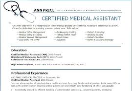 Medical Assistant Resume Examples Unique Design Medical Office