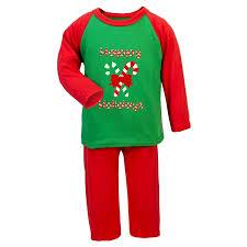 Christmas Xmas Pyjamas Happy Holidays Boys Girls Pyjamas: Amazon ...