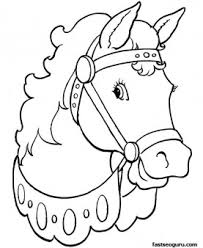 Small Picture Printable coloring pages Animal Beautiful horses Printable