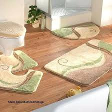 multi color bathroom rugs inspirational best choosing the tropical bath images on colored rug sets tro
