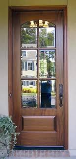 exterior glass wood door. Beautiful Door Craftsman Exterior Wood Entry Door DbyD4005 On Glass 6