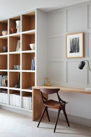 built in bookcases and desk seems relatively easy to make bibliothèque et bureau