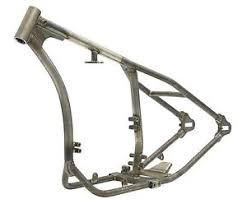 custom gooseneck rigid frame xs650 yamaha bobber chopper mfg by