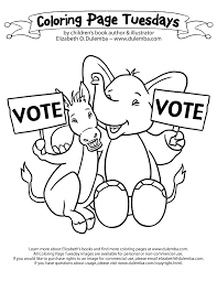 Election Day Coloring Pages - GetColoringPages.com