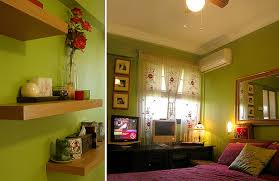 All photos. purple and green bedroom ...