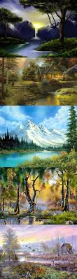 bob ross absolutely loved watching bob paint he had the most soothing manner about
