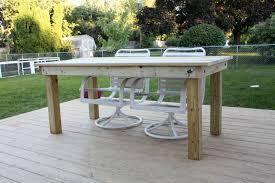 Simple Furniture Plans Table Diy Wood Patio Furniture Plans Talkfremont