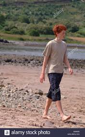 And barefeet on beach teen