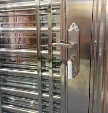 Custom made 304 stainless steel door for indian main door designs ...