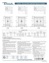 pdf manual for true freezer t 49f with wiring diagram agnitum me Freight Forwarder at True T49f Freezer Wiring Diagram