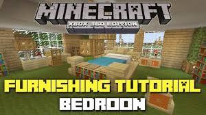 Minecraft Bedroom Furniture Bedroom In Minecraft Stargardenws