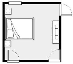 This website lets you enter the dimensions of your rooms/furniture and design  room layouts