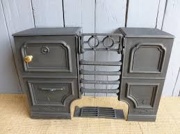 stove range coalbrookedale reclaimed antique cast iron rare kitchen cooking