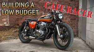 how to build a cafe racer low budget build