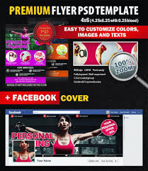 personal training psd flyer template 8298 styleflyers personal training psd flyer template