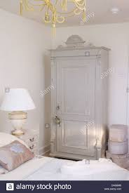 Pale Bedroom Pale Gray Painted Wardrobe In White Country Bedroom With China