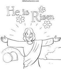 Christian Easter Coloring Pages For Preschoolers The Art Jinni