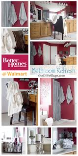 Bathroom Refresh With Better Homes And Gardens - Better homes bathrooms