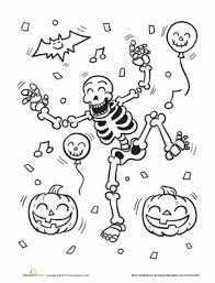 Small Picture Skeleton Worksheet Educationcom