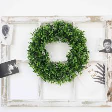 2019 simulation plants wreath artificial flower wreath diy wedding decoration wreaths picture decor props wall hanging plant pendant dh0912 from zoewu310