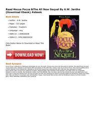 page 1 read hocus pocus