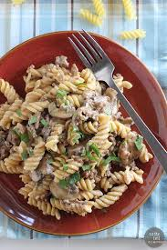 easy dinner recipes with ground beef. Exellent Beef This One Pot Ground Beef Stroganoff Is An Easy Dinner Idea For Easy Dinner Recipes With R