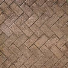 Herringbone Brick Pattern Custom Stamped Concrete New Brick Herringbone Pattern
