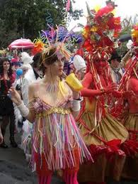 Lovely Mardi Gras Costumes From The Locals