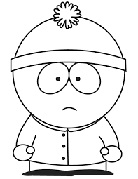 Stan South Park Colouring Pages Coloring Pages Pinterest