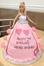 Barbie Doll With Cake Dress Arif Bakery Patisserie