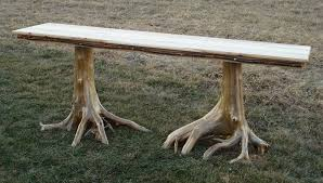 tree trunk furniture for sale. farmhouse tree stump dining table trunk furniture for sale