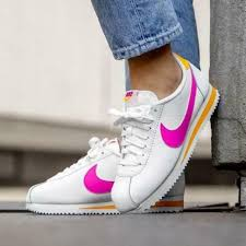 nike classic cortez leather white size 6 7 8 9 womens shoes max force air presto