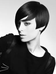 Sixties Hair Style short retro haircut with elements of swinging 60s hairstyles 5710 by wearticles.com