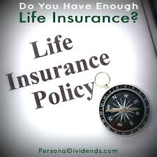 do you have enough life insurance