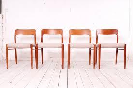 Moderne Dänische Esszimmerstühle Aus Teak Im Skandinavischen Stil Von Niels Otto Møller Für Jl Møllers 1960er 4er Set