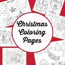 Coloring pages for kids christmas coloring pages. Cute Christmas Coloring Pages