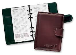 faux leather 6 ring planner organizers