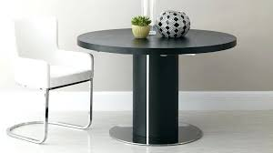 round extendable dining table black wood veneer easy extending best singapore round extendable dining table best singapore