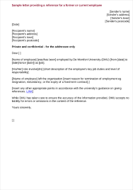 Letter Of Employment 24 Employee Reference Letter Examples Samples In PDF 3