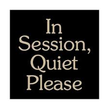 Quiet Please Meeting In Progress Sign Meeting Sign Clipart