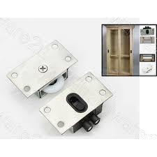 4set heavy duty cabinet closet sliding door nylon roller set cnr338ss