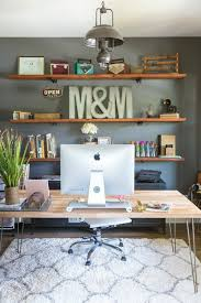 Home office wall shelving Modern Decorate The Office Wall Shelves With Letters Pinterest 10 Wall Decor Ideas To Take To The Office Office Design We Love